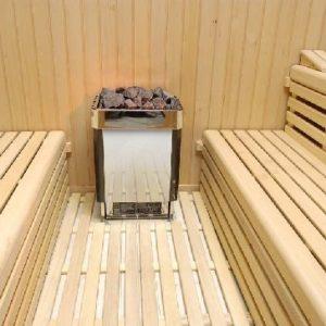 Пол для бани из дубовой доски
